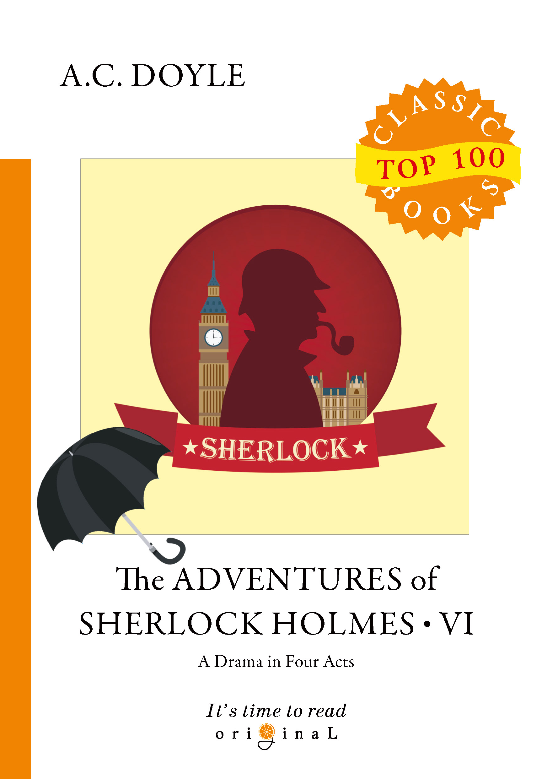 A.C. Doyle The Adventures of Sherlock Holmes VI цена и фото