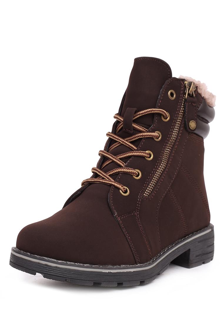 Ботинки T.TACCARDI женские кожаные зимние ботинки