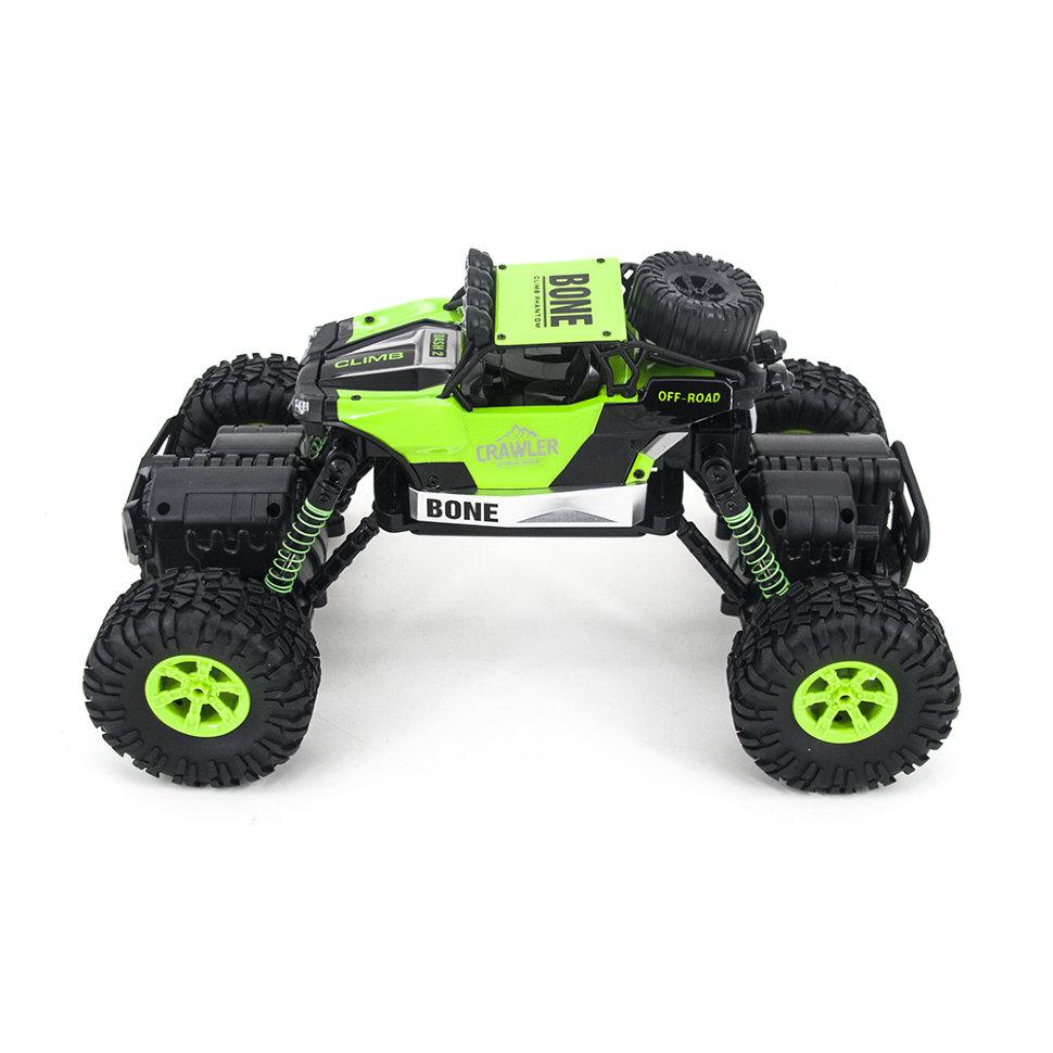 Машинка Краулер на радиоуправлении, 1:16, 4WD, зеленый