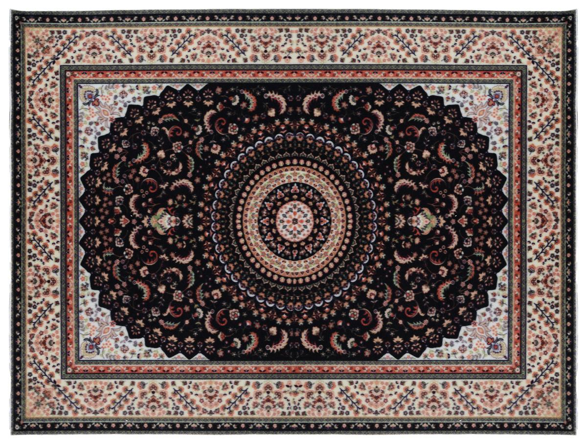 Коврик придверный Vortex Samba , влаговпитывающий, 90 х 120 см цвет: бежевый, коричневый коврик придверный vortex влаговпитывающий цвет коричневый 50 см х 80 см