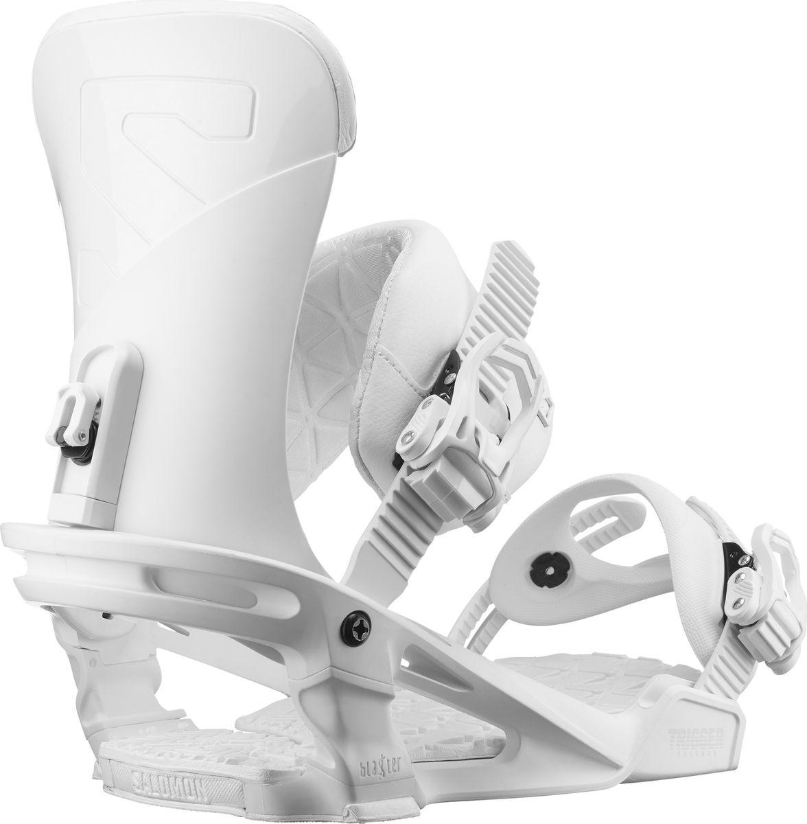 Крепления для сноуборда Salomon Trigger, цвет: белый. Размер M (39,5-44)