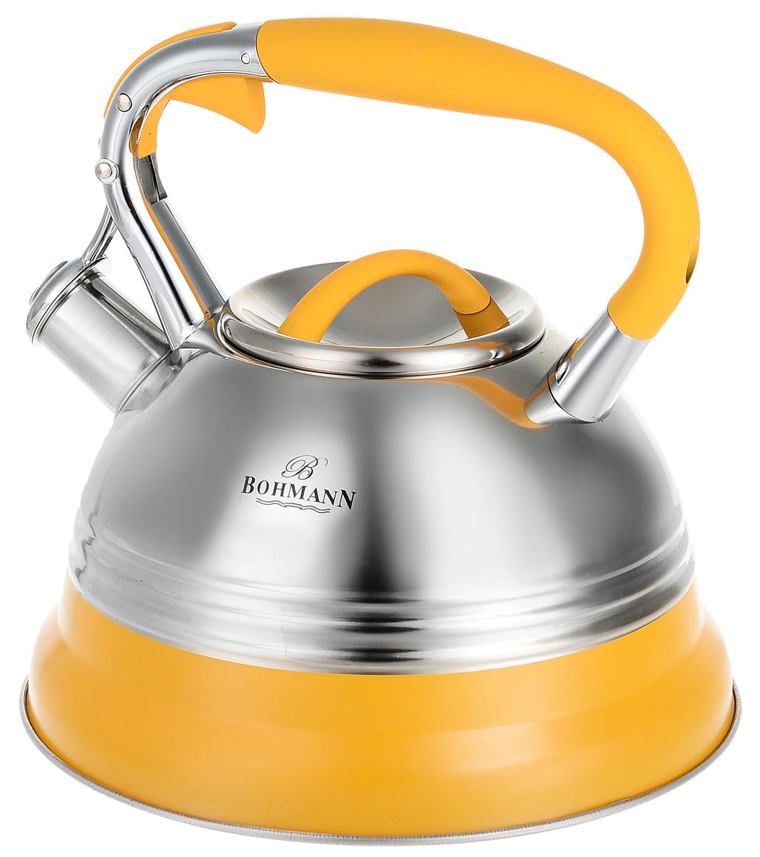 Чайник Bohmann, цвет: оранжевый, 3 л. 9921BH чайник 1 3 л птицы santafe чайник 1 3 л птицы