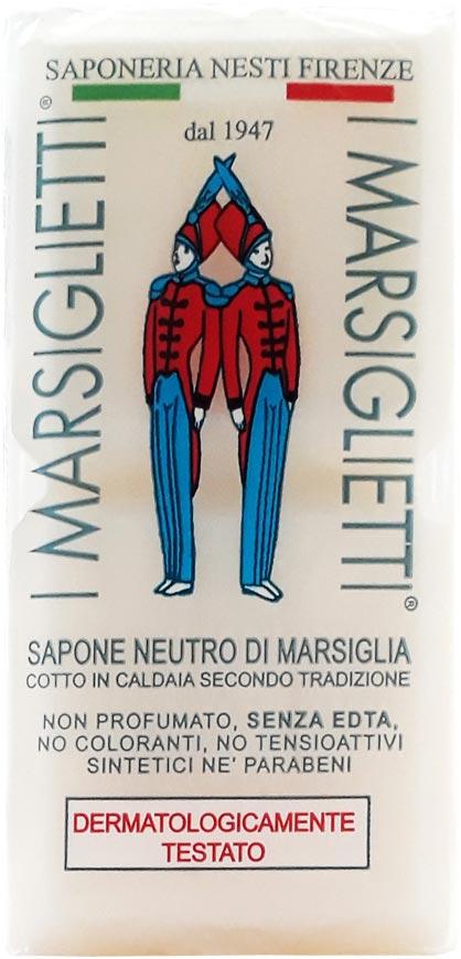 Nesti Dante Мыло I Marsiglietti Марсельское Традиционное, 200 г мыло олива из апулии nesti dante мыло олива из апулии