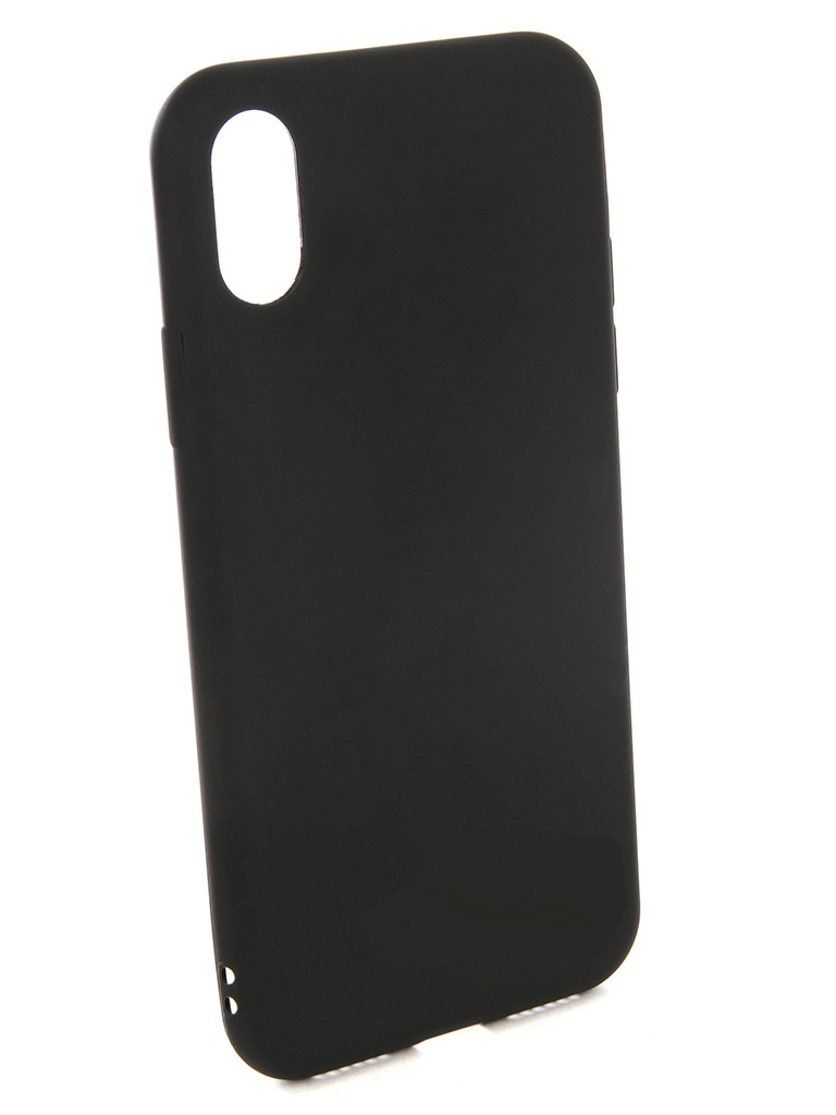 Чехол силиконовый EVA для Apple IPhone X, Black аксессуар чехол для apple iphone x eva silicone black ip8a001b x