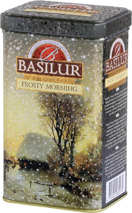 Черный листовой чай Basilur Frosty Morning, 85 г basilur frosty afternoon черный листовой чай 100 г жестяная банка