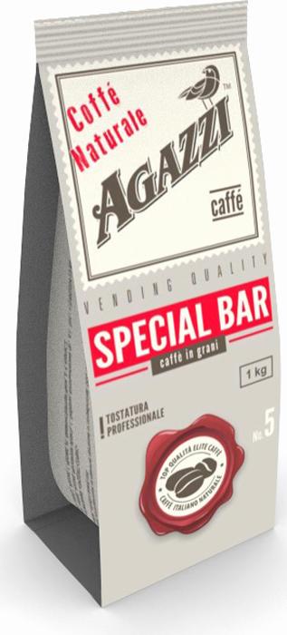 Кофе в зернах Agazzi Special Bar, 1 кг кофе в зернах agazzi gusto aroma 200 г