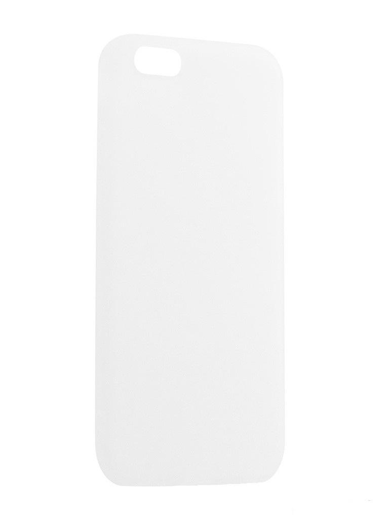 Чехол силиконовый EVA для Apple IPhone 5/5s/5c - Белый