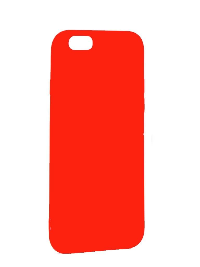 Чехол силиконовый EVA для Apple IPhone 5/5s/5c - Красный