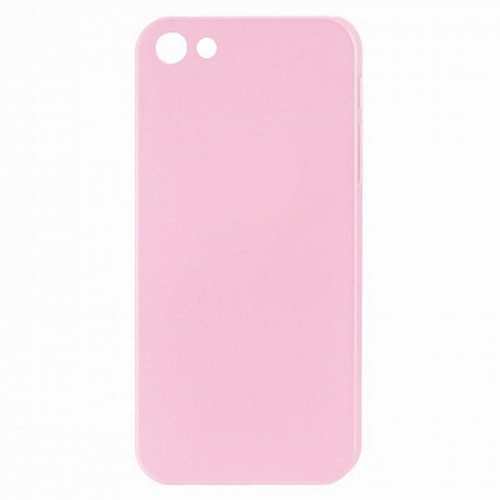 Чехол силиконовый EVA для Apple IPhone 5/5s/5c - Розовый