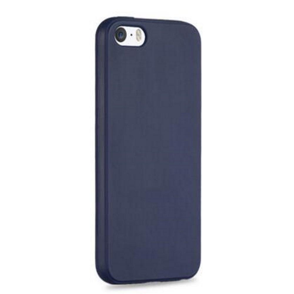 Чехол силиконовый EVA для Apple IPhone 5/5s/5c - Синий