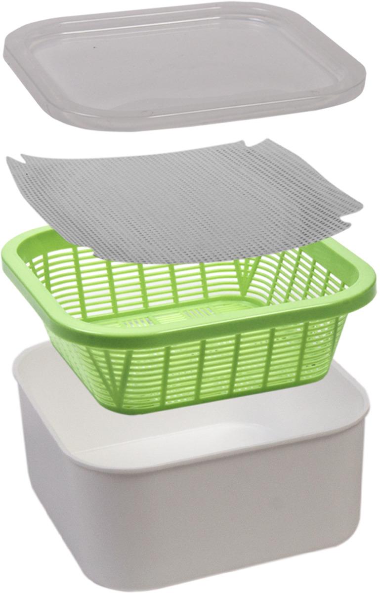 Проращиватель Здоровья клад, для зеленой травки, ПР0004 аэросад здоровья клад для зеленой травки для кошек
