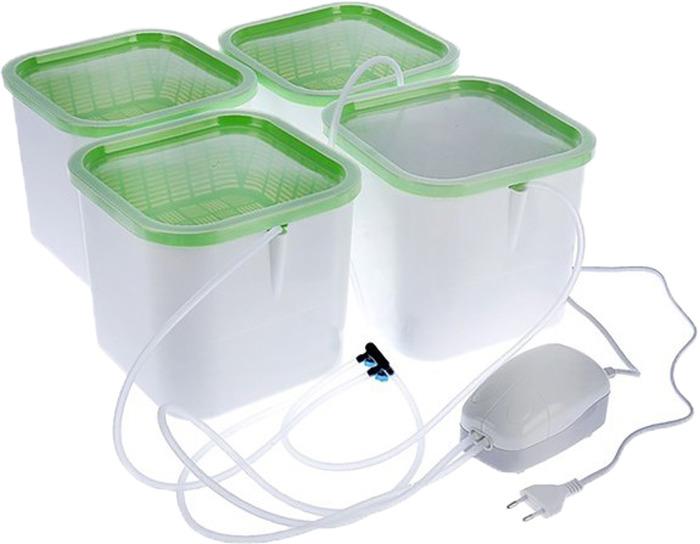 Проращиватель Здоровья клад, 4-модульный, Х4 гидропонная установка здоровья клад домашняя чудо грядка