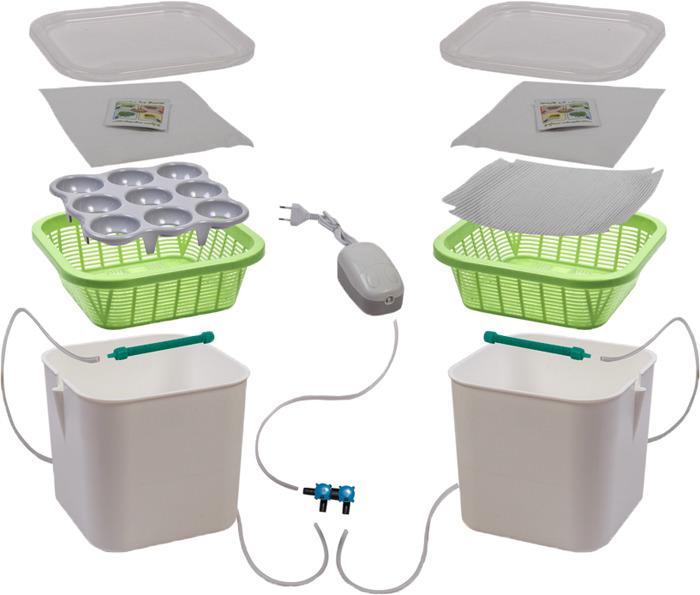 Проращиватель Здоровья клад, 2-модульный, Х2 гидропонная установка здоровья клад домашняя чудо грядка