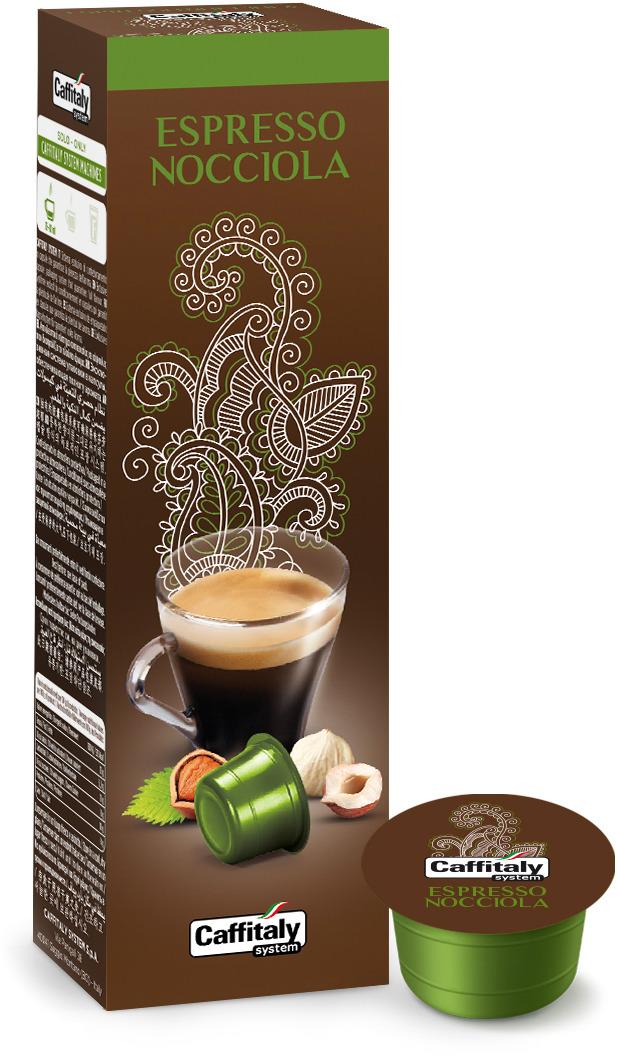 Кофе в капсулах Caffitaly System Espresso Nocciola, 10 шт кофе caffitaly кофе в капсулах mesico
