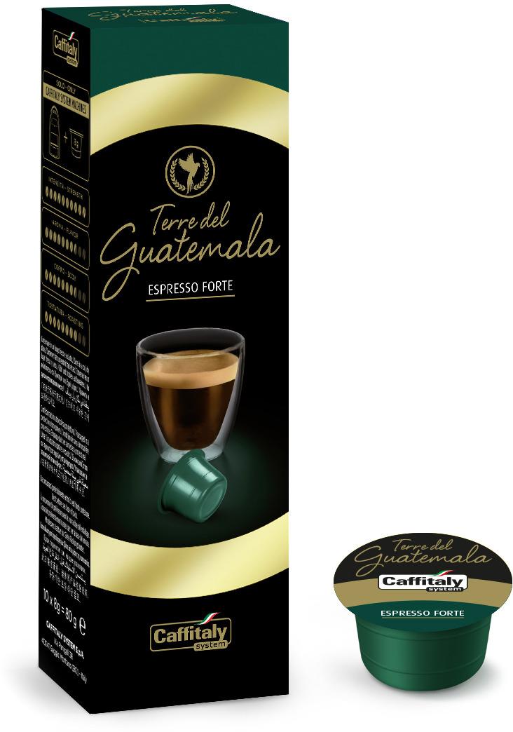 Кофе в капсулах Caffitaly System Terre Di Guatemala, 10 шт кофе caffitaly кофе в капсулах mesico