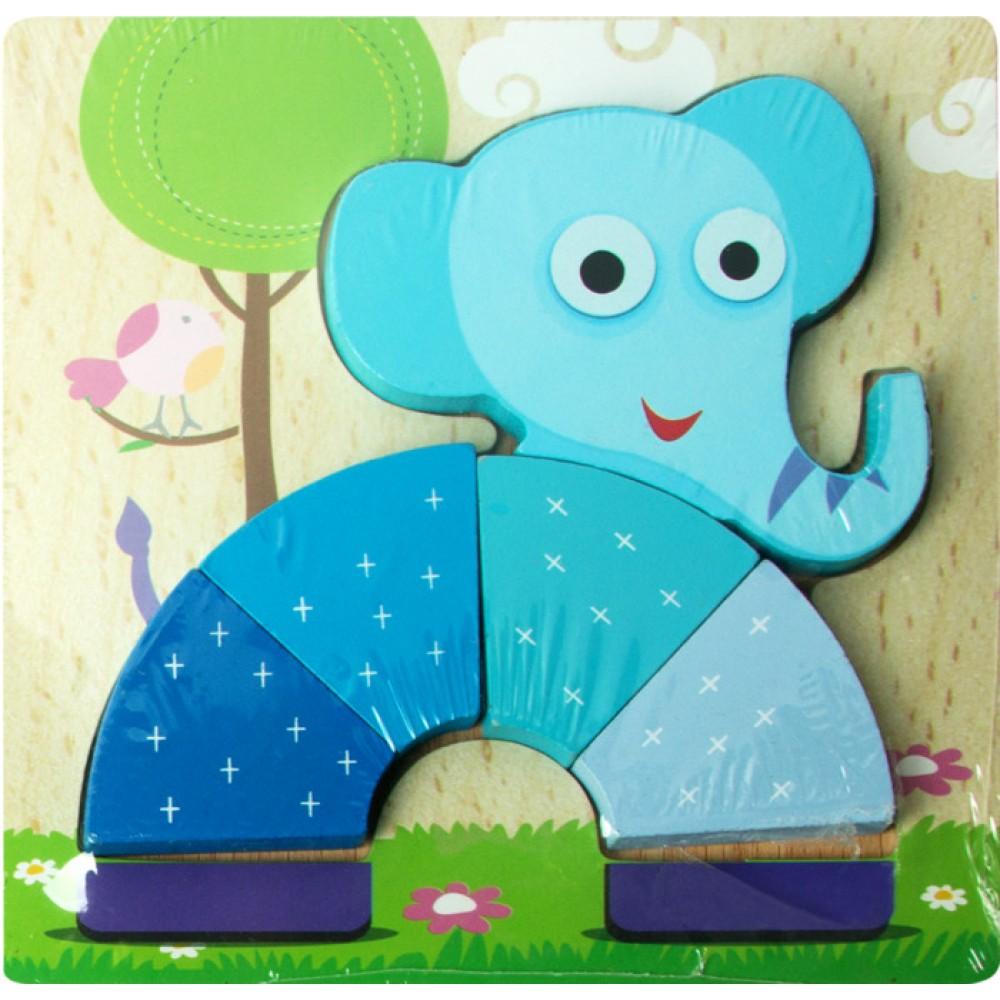 Объемный пазл Kribly Boo Слон