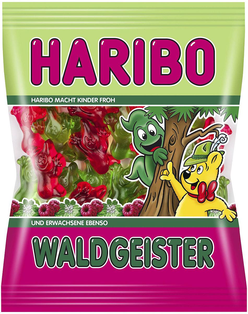 Haribo Waldgeister жевательный мармелад, 200 г жевательный мармелад haribo червячки 70г