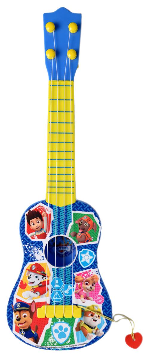 Музыкальная игрушка Щенячий патруль Гитара гитара игрушечная 1 toy поющий оркестр
