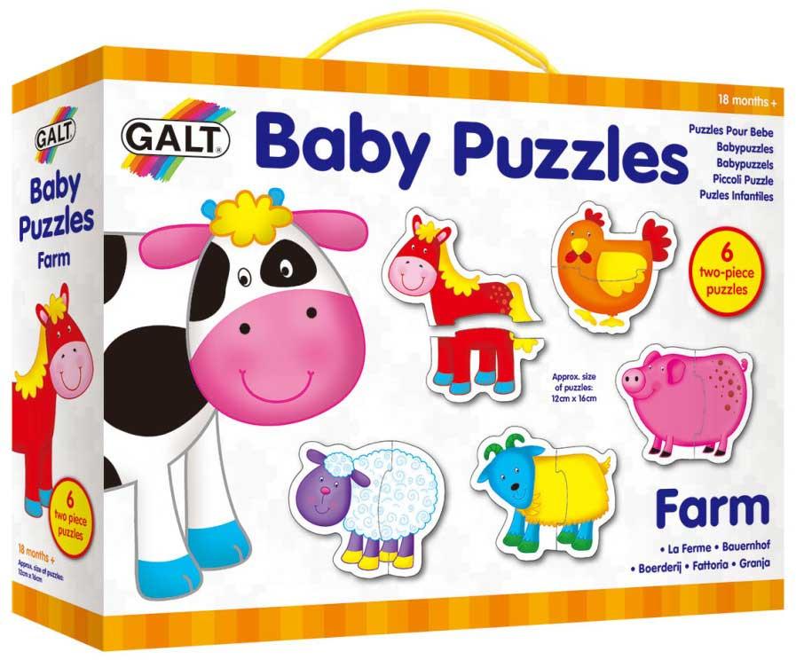 Galt Пазл для малышей Ферма 1003028 пазлы learning journey набор пазлов веселая ферма