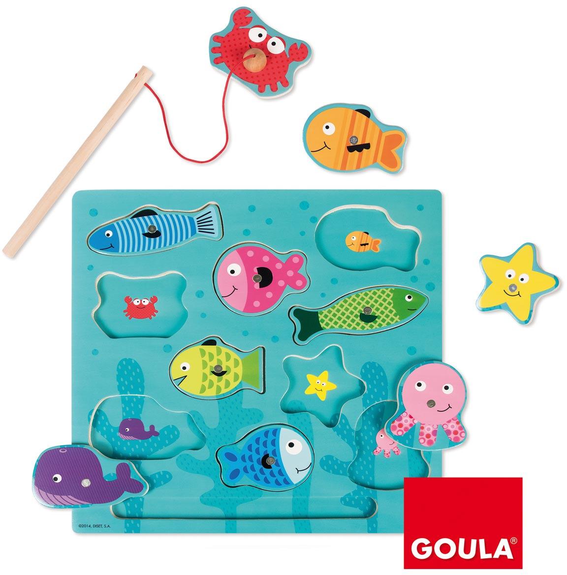 Goula Магнитная игра Рыбки 53131 goula магнитная игра рыбки 53131