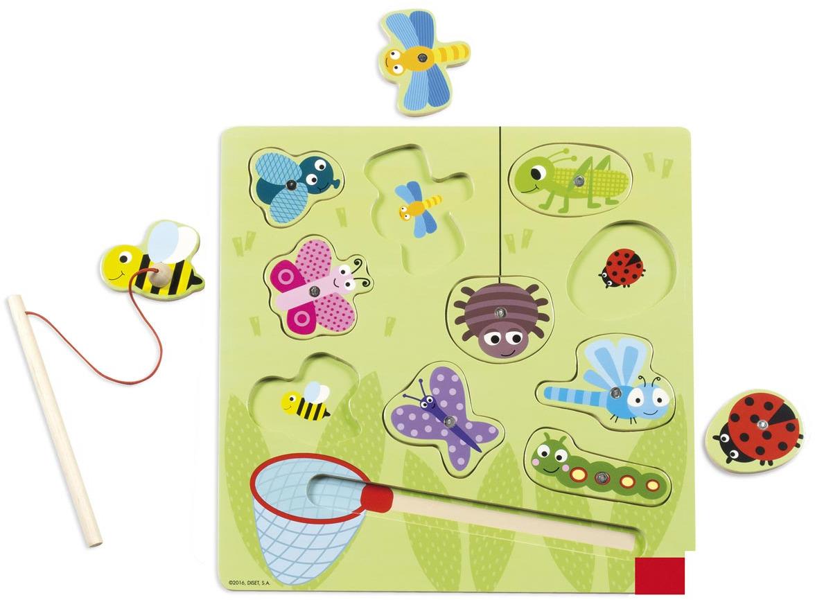Goula Магнитнпя игра Жуки 53134 goula магнитная игра рыбки 53131