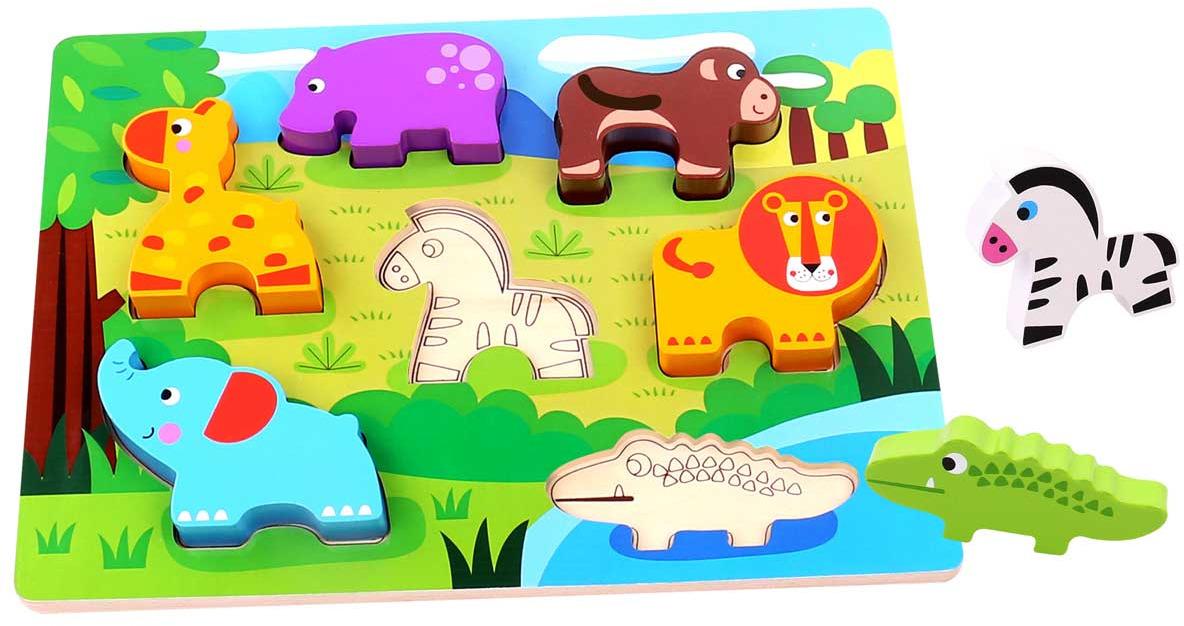 Tooky Toy Пазл Животные TKC394 цены онлайн