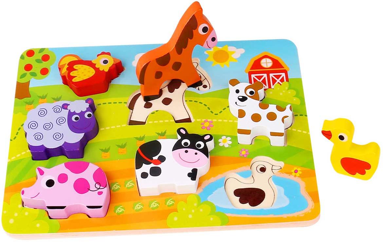 Tooky Toy Пазл Ферма TKC479 цены онлайн