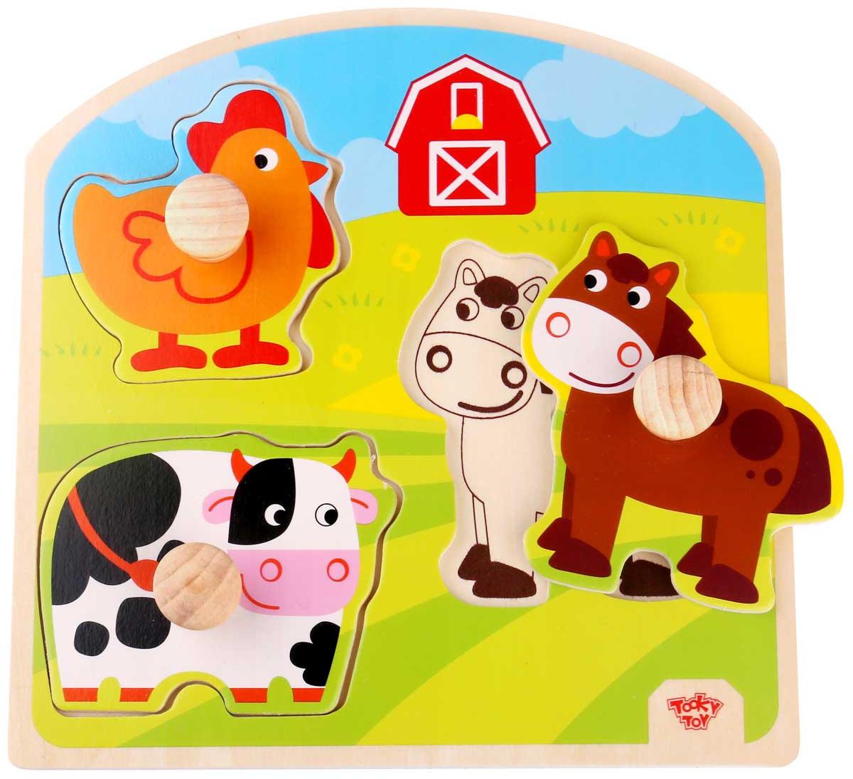 Tooky Toy Пазл Ферма TKG021 цены онлайн