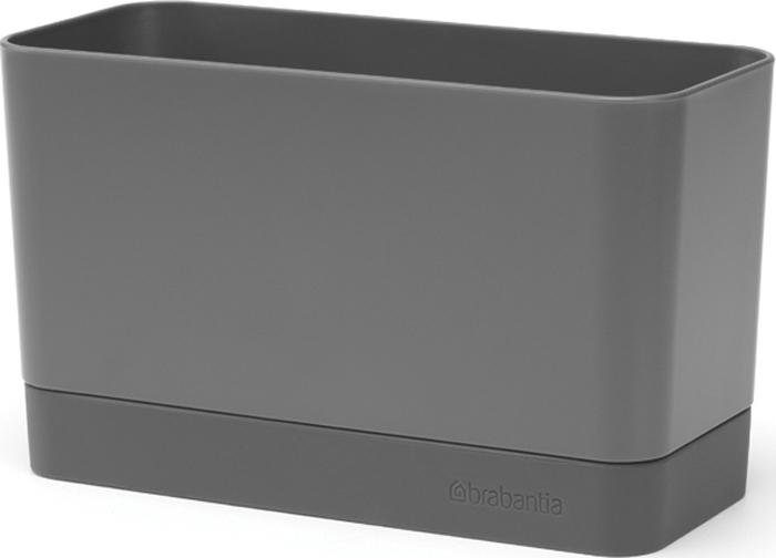 Органайзер для раковины Brabantia, для кухни, цвет: темно-серый