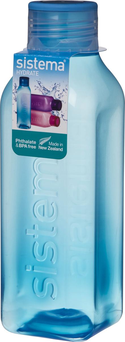 Бутылка для воды Sistema, цвет: синий, 725 мл