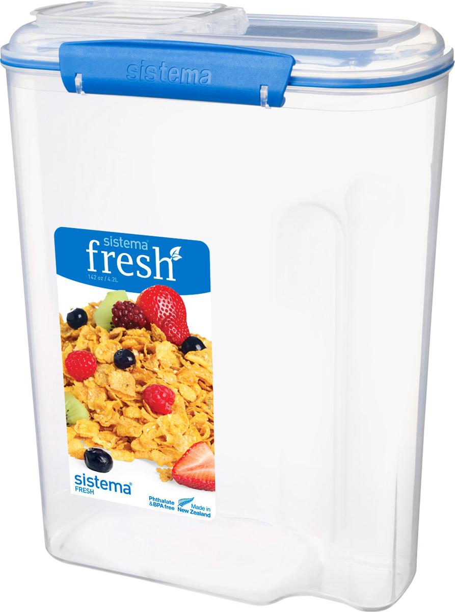 Контейнер пищевой Sistema 921450, Пластик