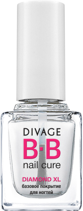 DIVAGE BB NAIL CURE Базовое покрытие для ногтей DIAMOND XL, 12 мл