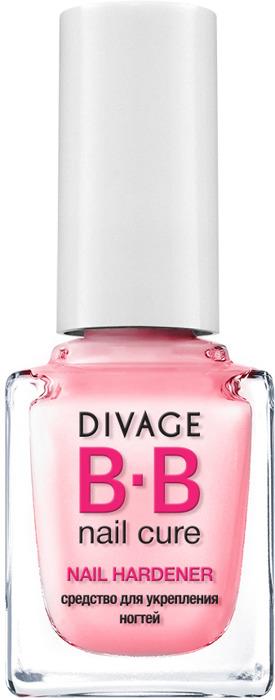 Divage BB-Средство для укрепления ногтей Nail Hardener, 12 мл divage accessories баночка пластиковая 10 мл