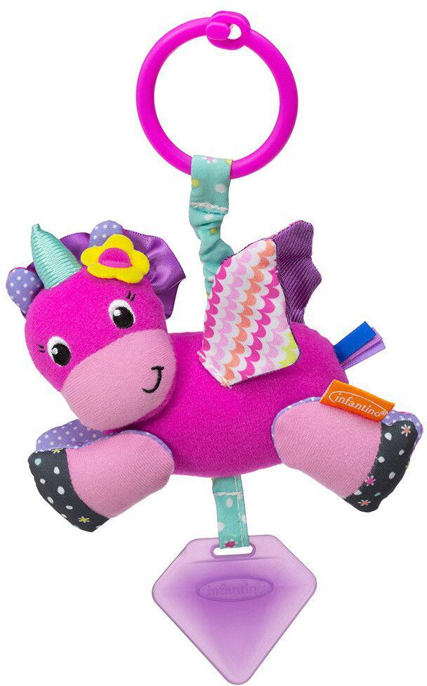 Развивающая игрушка Infantino Единорог развивающая игрушка infantino единорог