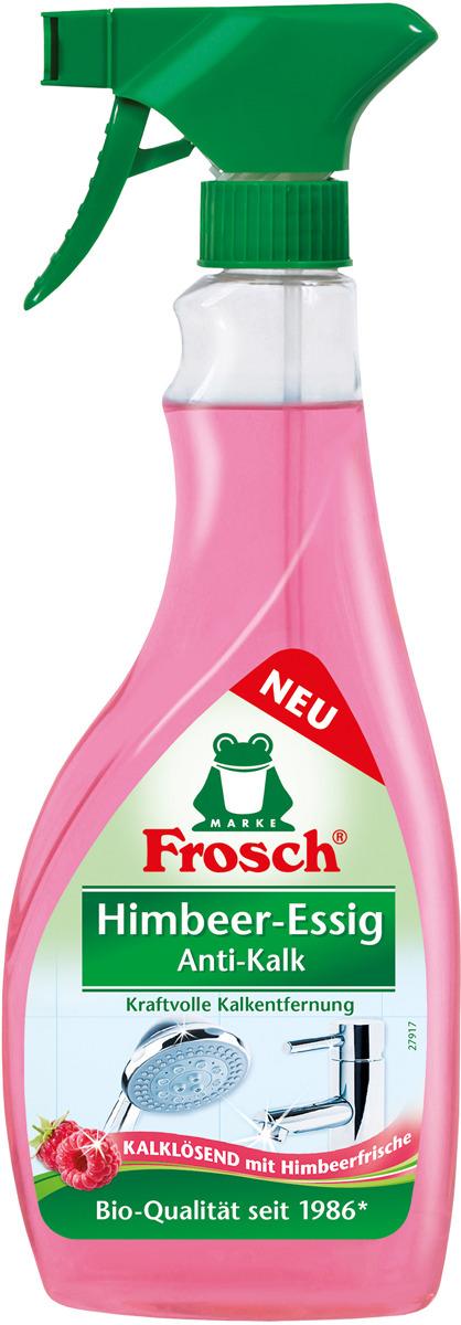 """Средство для удаления известкового налета Frosch """"Малина"""", 500 мл"""