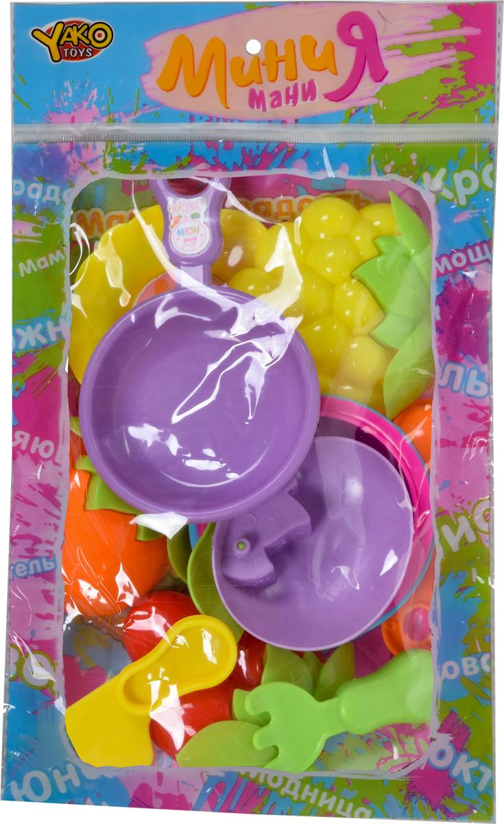 Набор посуды Yako МиниЯ. M6343 yako набор посуды с продуктами разноцветный