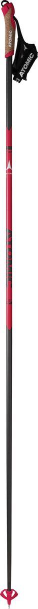 Палки лыжные Atomic Redster Carbon, цвет: красный, длина 155 см горнолыжные палки atomic atomic amt boy черный 80