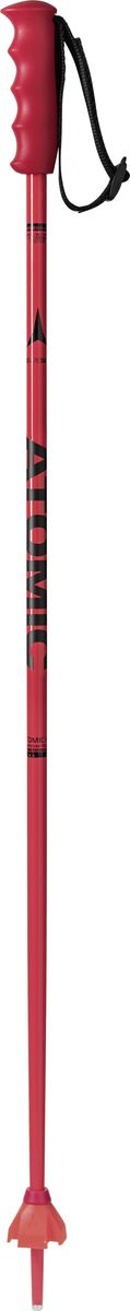 Палки лыжные Atomic Redster Jr, цвет: красный, длина 95 см