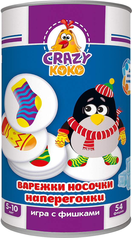 Обучающая игра Vladi Toys Варежки-носочки настольная игра обучающая vladi toys сковородки vt2309 09