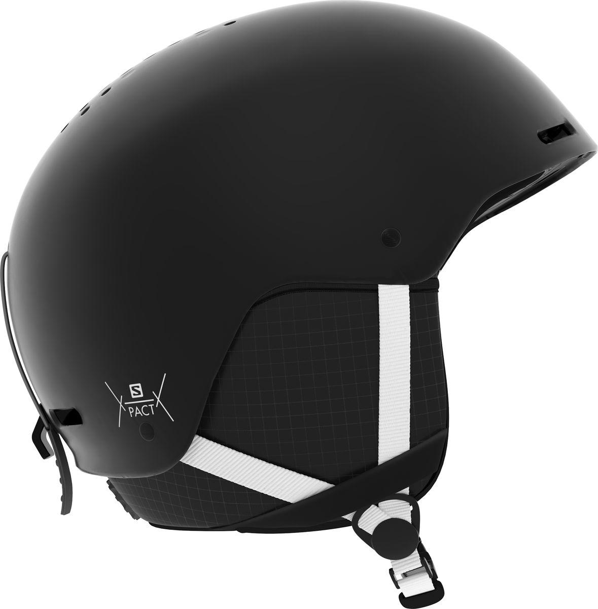Шлем горнолыжный Salomon Pact, цвет: черный. Размер S (53-56)