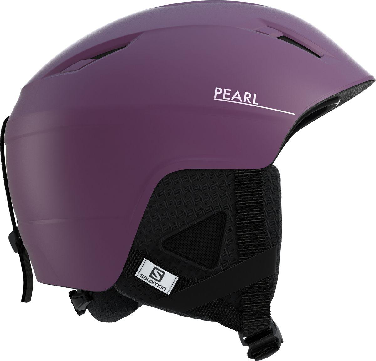 цена на Шлем горнолыжный Salomon Pearl2+ Fig, цвет: фиолетовый. Размер S (53-56)