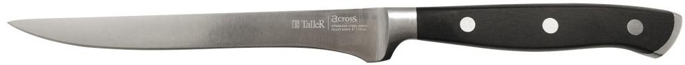 Нож филейный Taller, длина лезвия 15 см. TR-2024 нож универсальный taller длина лезвия 13 см tr 2048