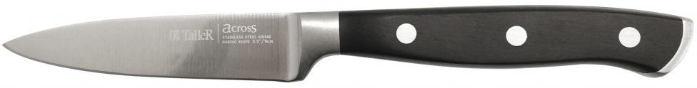 Нож для овощей Taller, длина лезвия 9 см. TR-2025 нож универсальный taller длина лезвия 13 см tr 2048