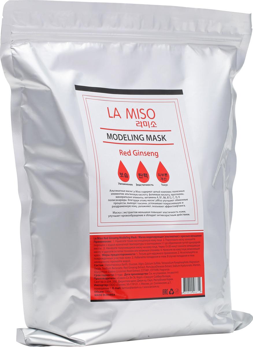 La Miso, Маска моделирующая (альгинатная) с женьшенем, Red Ginseng, 1000 г