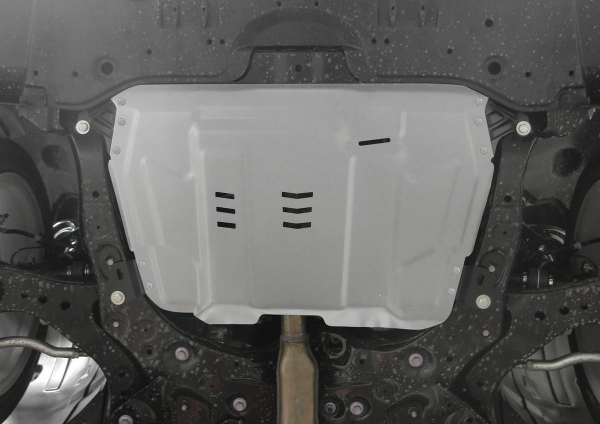 Защита картера и КПП Rival для Lexus ES 2012-н.в./RX 270/350/200t/450h 2008-н.в./Lifan Murman МКПП 2017-н.в./Toyota Camry 2006-2011 2011-2014 2014-2018 2018-н.в./Highlander 2010-2014 2014-2017 2017-н.в./Venza 2013-2016, алюминий 4 мм,. 333.9519.1 комплект защита картера и крепеж nlz для toyota highlander camry lexus es 350 rx 270 rx 350 2010 2013