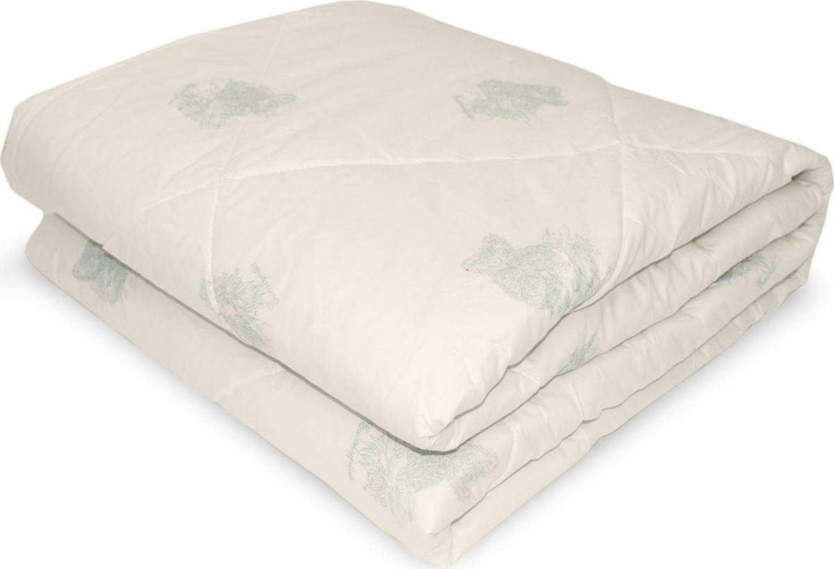 Одеяло Classic by T Эвкалипт в хлопке, наполнитель: полиэфир, эвкалиптовое волокно, цвет: светло-бежевый, 175 х 200 см