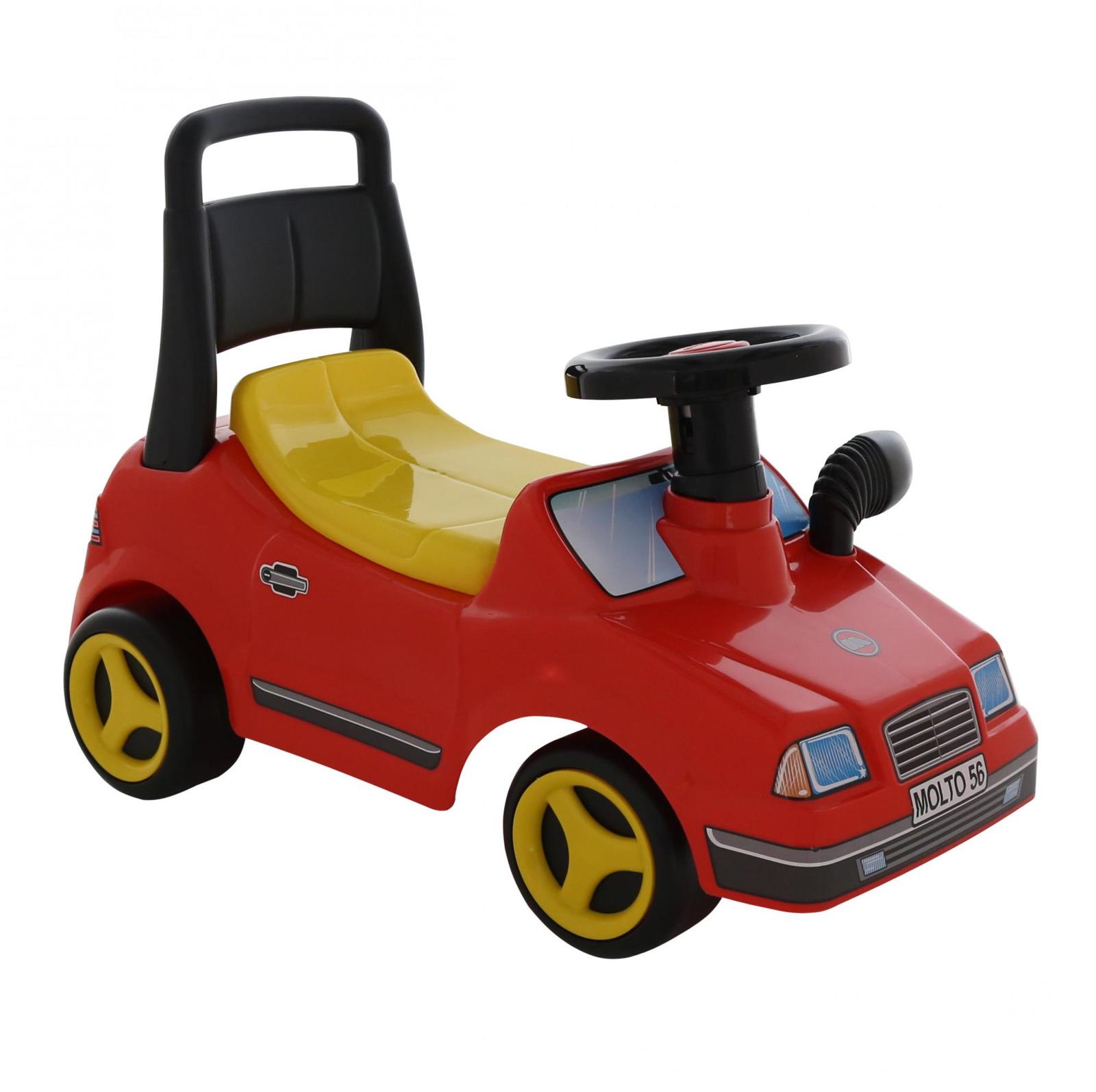 Автомобиль-каталка Полесье Вихрь, цвет в ассортименте67203Автомобиль-каталка Вихрь от производителя Полесье может стать одной из самых любимых игрушек ребёнка дошкольного возраста. Ребенок, сидя на каталке, отталкивается ножками и тем самым развивает мышцы спины, ног и рук, кроме того, такое катание способствует развитию общей координации движений. Ребенок может катать каталку и перед собой, совершенствуя навыки ходьбы. Уважаемые клиенты! Обращаем ваше внимание на цветовой ассортимент товара. Поставка осуществляется в зависимости от наличия на складе.