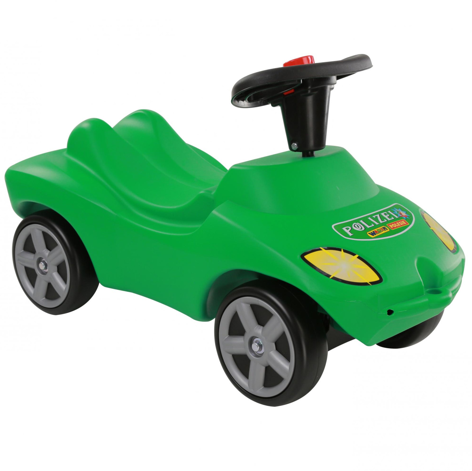 Автомобиль-каталка Полесье Полиция, со звуковым сигналом, цвет в ассортименте автомобиль пластмастер малютка зефирки цвет в ассортименте 31172