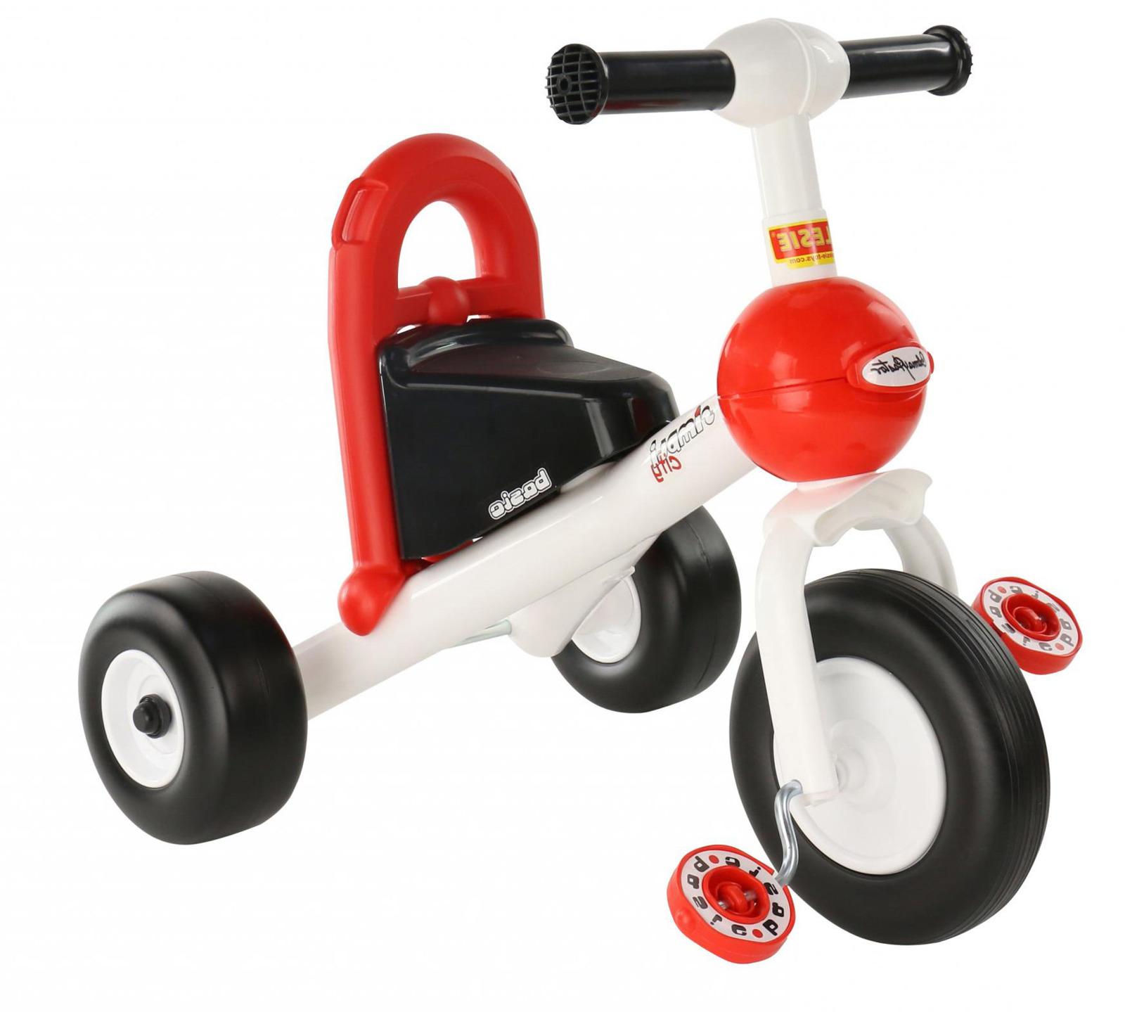 Велосипед трехколесный Полесье Базик. 66695, цвет в ассортименте