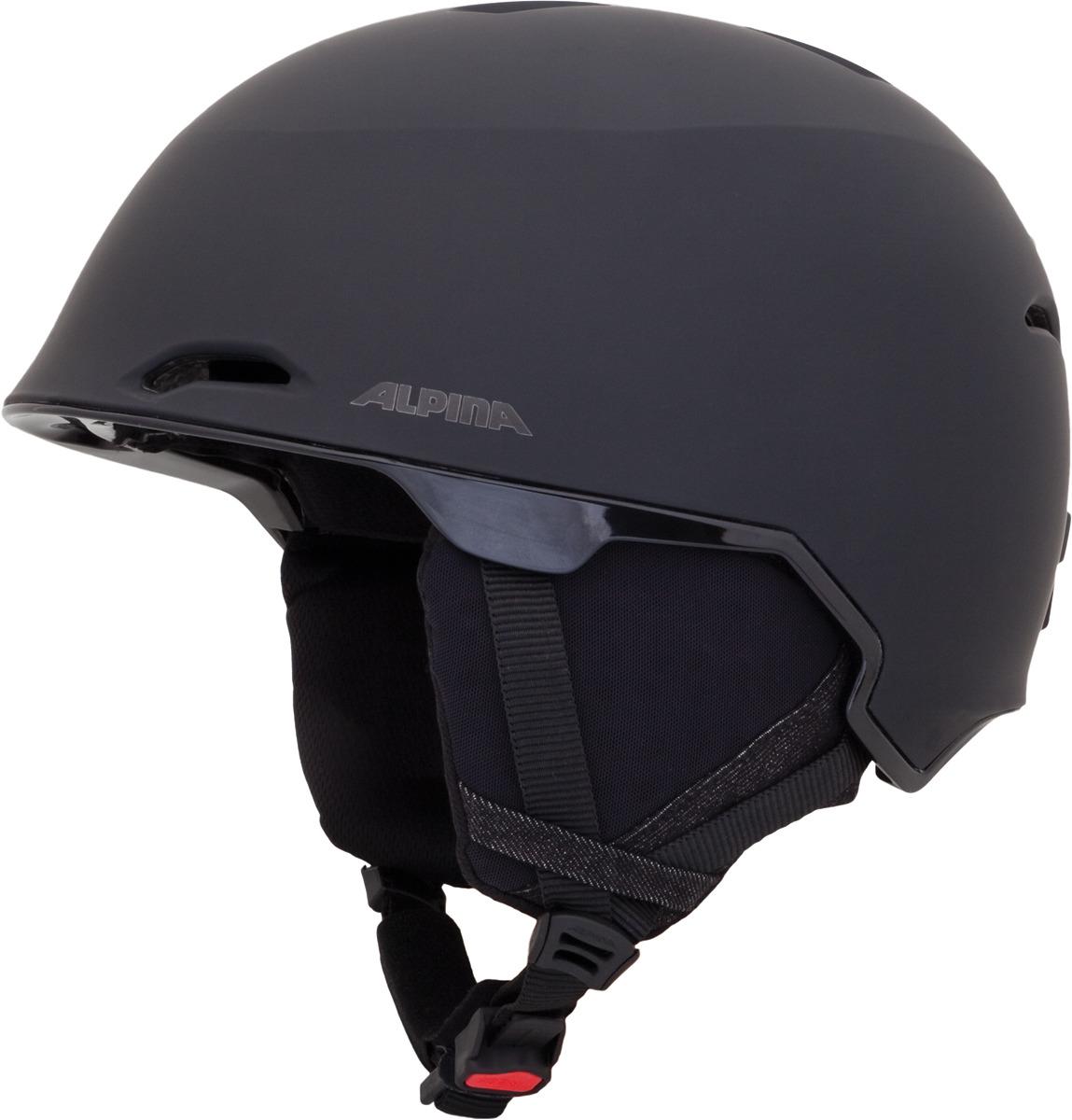 Шлем горнолыжный зимний Alpina Alpina Maroi, черный, размер 58-61 см